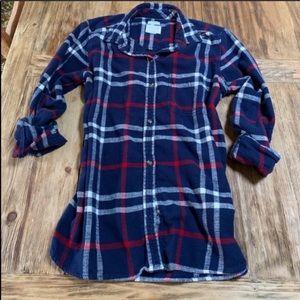 American Eagle 🦅 Boyfriend Flannel Shirt